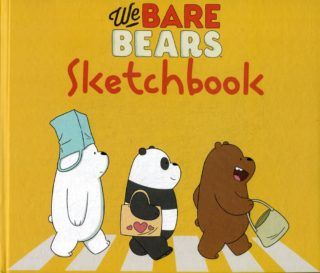 "Книга ""We bare bears. Скетчбук"""