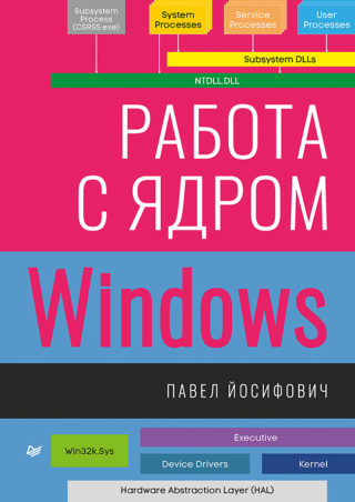 "Книга ""Работа с ядром Windows"" Павел Йосифович"
